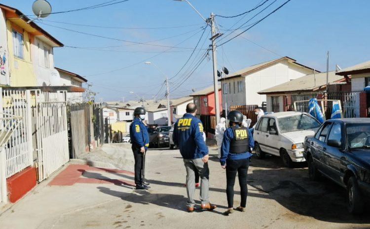 PDI realiza 4 allanamientos en el sector de Las Compañías en La Serena