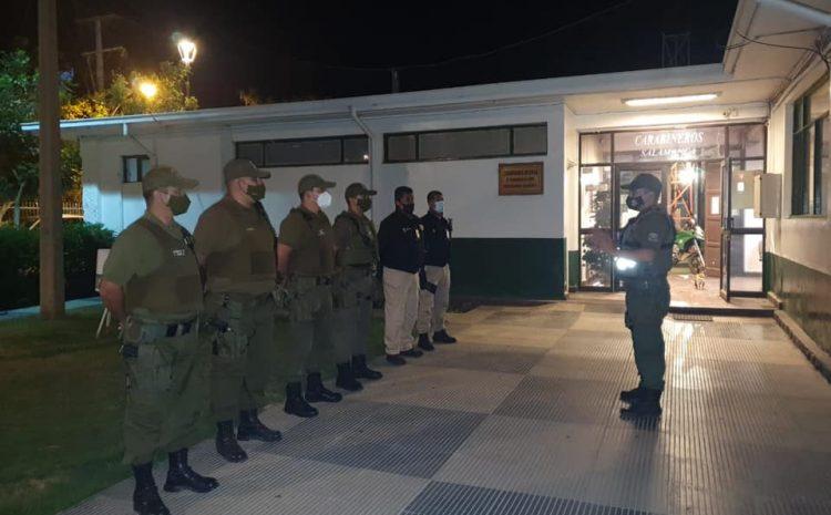 Seis personas fueron detenidas en Salamanca por infracción al Toque de Queda este fin de semana
