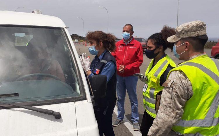 18 vehículos fueron devueltos de la Aduana Sanitaria de Pichidangui en las últimas 24 horas