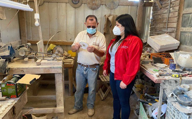 Artesano de piedra Andacollita recibió capacitacionesy financiamiento del FOSIS y el Gobierno Regional