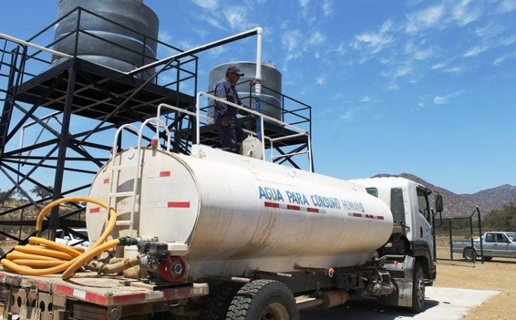 Gobernacion de Choapa se refiere a las  problemáticas  por camiones aljibes denunciadas por el Municipio de Illapel