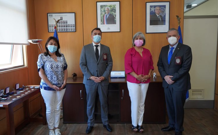 PDI y Ministerio de la Mujer refuerzan trabajo en apoyo a víctimas de violencia de género