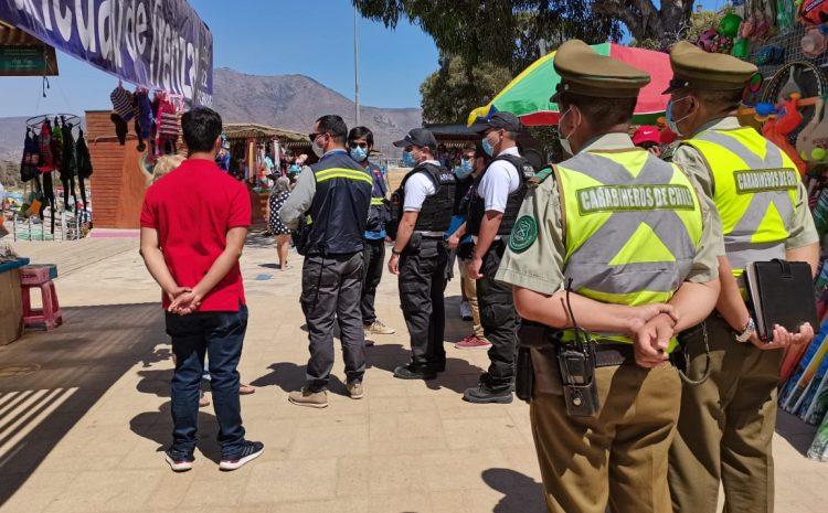 60 personas infraccionadas en la comuna de Los Vilos por no respetar normas sanitarias