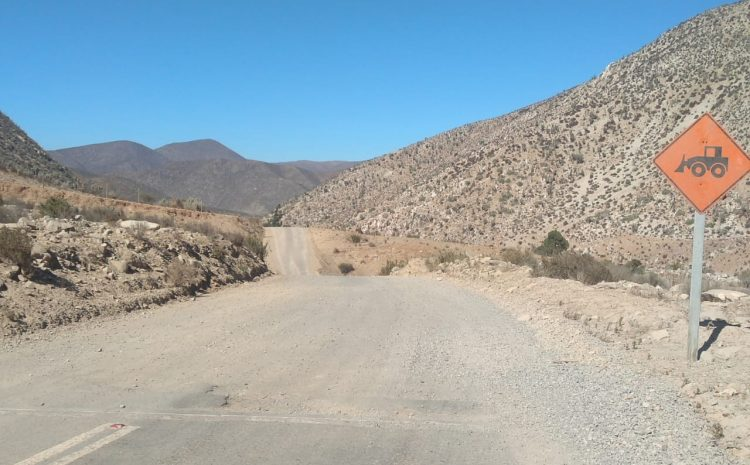 En Febrero se iniciará construcción de segundo tramo de Ruta D-803 sector Matancilla en Illapel