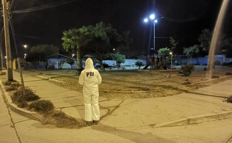 PDI busca al presunto autor de disparo a quemarropa