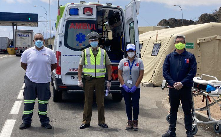 En aduana de Pichidangui efectuaron controles de alcotest y narcotest a conductores que ingresaban a la región