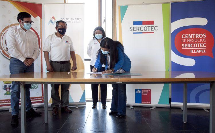 Alianza Sercotec y Fundación Minera Los Pelambres permitirá capacitar y asesorar a más de 2 mil emprendedores del Choapa