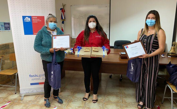 Emprendedores de Limarí potenciaron sus negocios con apoyo del FOSIS