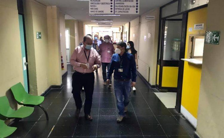 Hospital de Illapel recibe visita de autoridades del Servicio de Salud de cara a desafíos del 2021