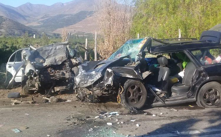 Cinco personas fallecidas dejó un accidente vehicular en el sector de Llimpo en Salamanca