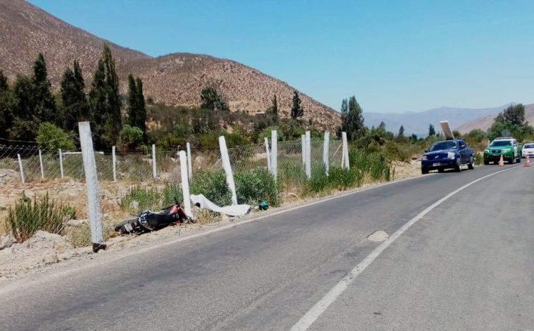 Joven Venezolano muere en accidente de motocicleta  al interior de la comuna de Salamanca