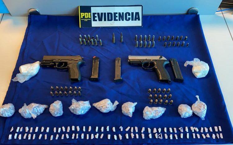 PDI de Valparaíso detuvo a sujeto por infracción a la ley de armas