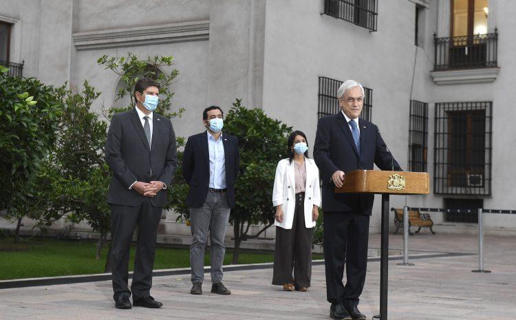 Presidente Piñera anuncia inicio de pago de IFE Covid y Bono Covid para apoyar a las familias afectadas por la pandemia: