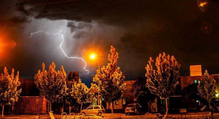 Chubascos y tormentas en la cordillera se experimentarán con mayor intensidad hoy lunes 25