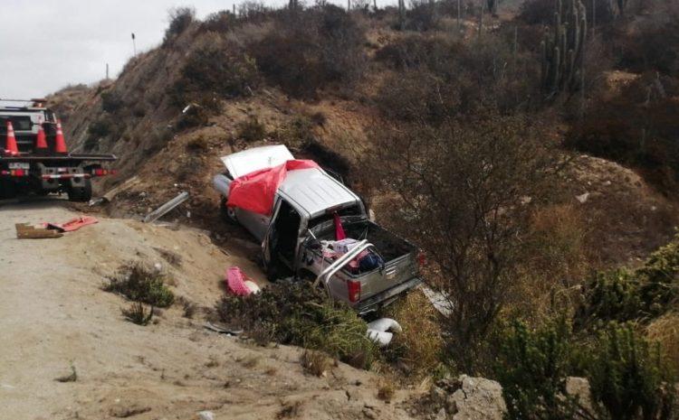Dos adultos mayores fallecidos deja trágico accidente en la comuna de Canela