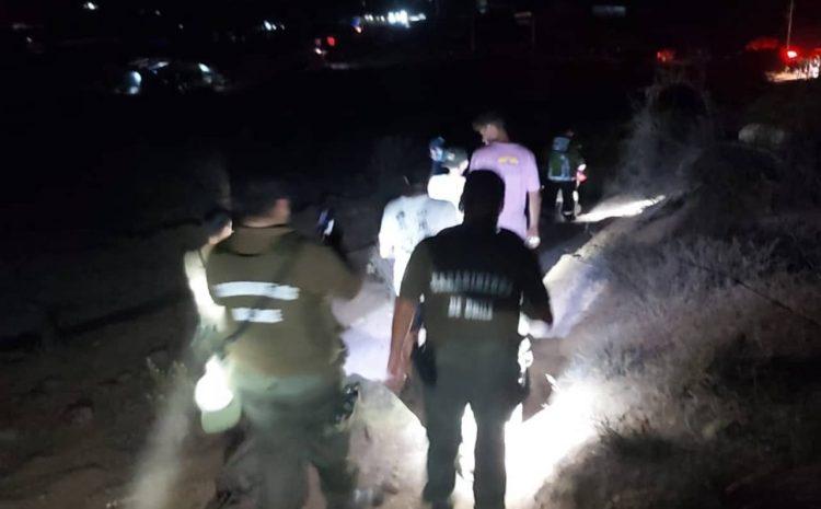 Cuatro jóvenes turistas fueron restados exitosamente luego de extraviarse en el Cerro Santa Inés de Pichidangui