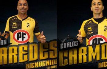 Esteban Paredes y Carlos Carmona llegan a reforzar a Coquimbo Unido