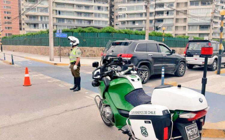 Controles de fin de semana arrojó 22% menos de movilidad y 295 infracciones por restricción vehicular