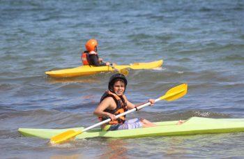 """Programa """"Verano en Movimiento"""" llevó el deporte a las playas"""