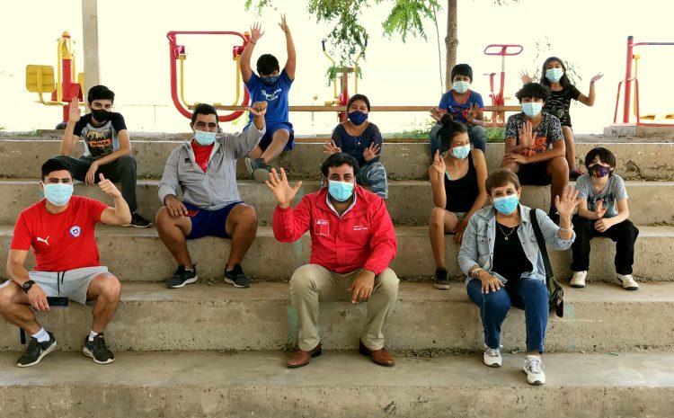Niños de Monte Patria y Salamanca participaron en Centros de Cuidado para hijos de trabajadores de temporada este verano