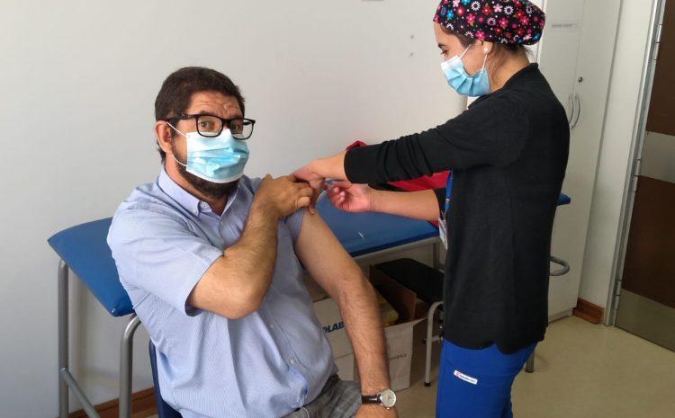 Más de 1500 personas han sido vacunadas contra el Covid19 en Salamanca