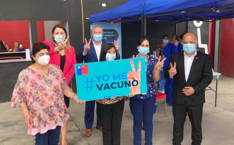 80 mil adultos mayores se han vacunado contra el Covid-19 en la región de Coquimbo