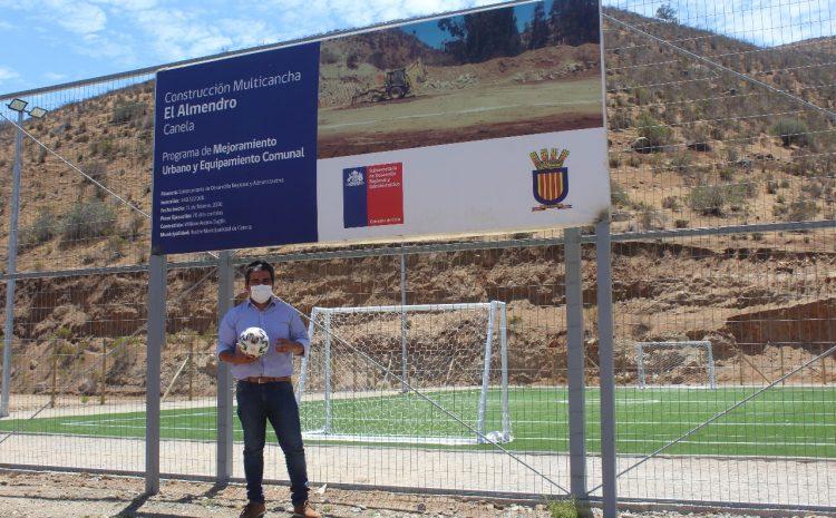 Localidades de Canela cuentan con nueva infraestructura deportiva