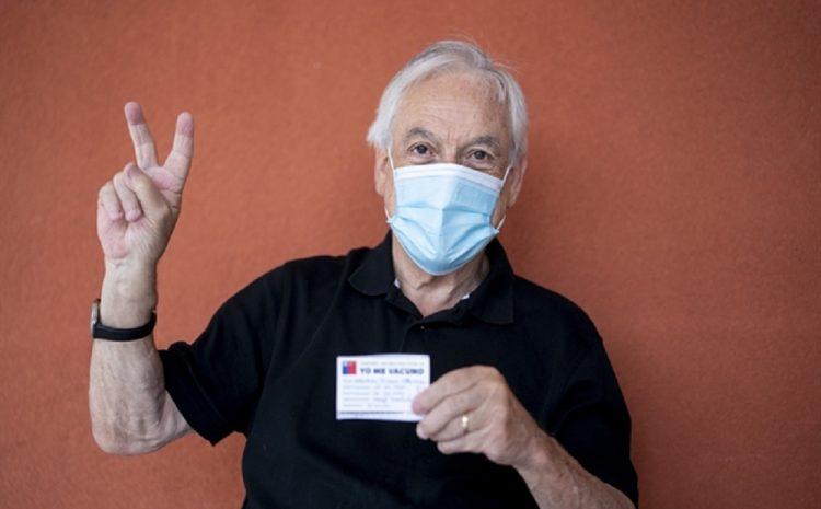 Presidente Piñera recibe vacuna contra el Covid-19