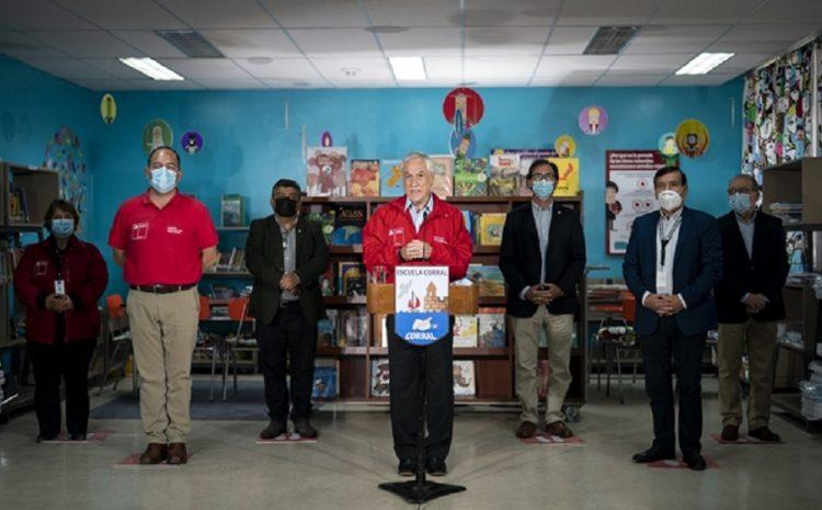 Presidente Piñera anuncia el inicio del año escolar 2021 en medio de la pandemia