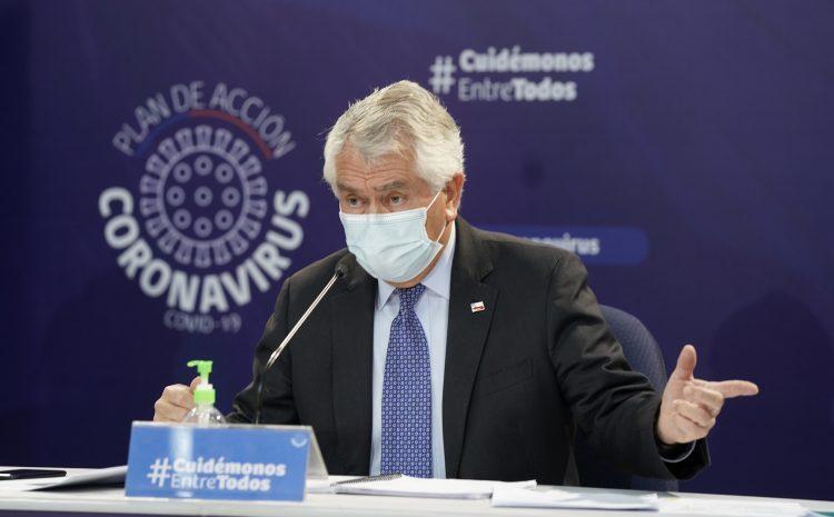 Ministro Paris: «No le echemos la culpa al Permiso de Vacaciones» ante el aumento de contagios por coronavirus