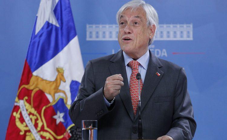 Presidente Piñera anunció que extenderá el Estado de Catástrofe por la pandemia del Covid-19