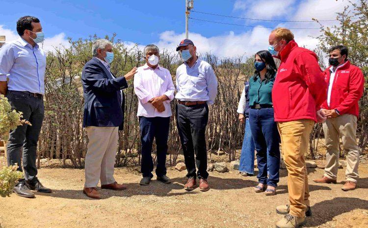 Ministros Rubilar y Moreno lanzan nueva Ficha Básica de Emergencia Hídrica en Ovalle