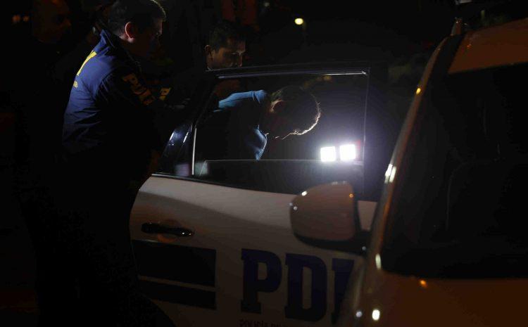 PDI detiene a sujeto acusado de robo a vehículos durante el toque de queda en Illapel