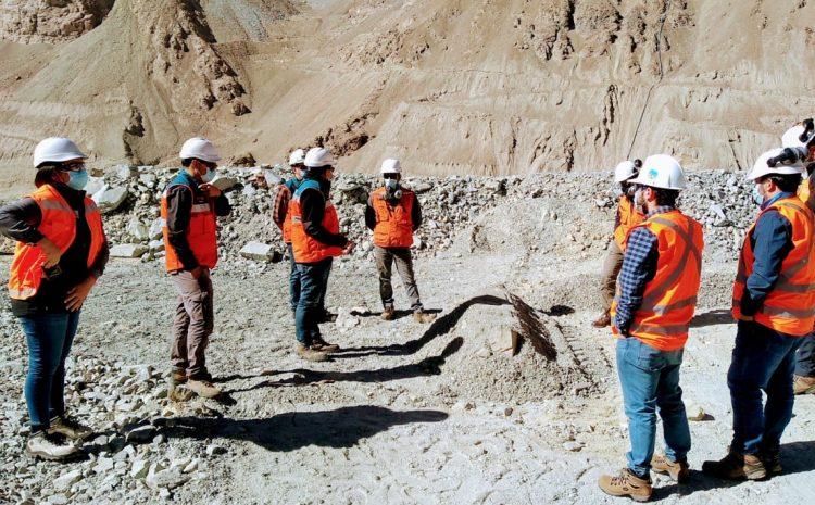 Autoridades y vecinos de Cuncumen visitan faenas de Minera Los Pelambres por temas de polución