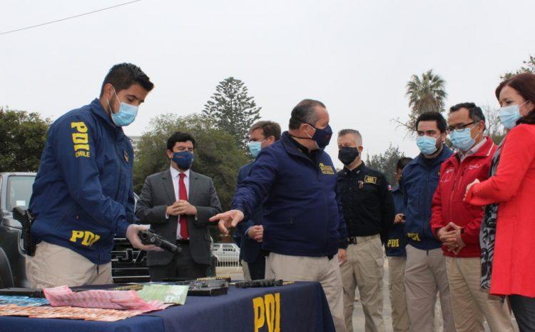 Operación Kentucky de la PDI deja 10 detenidos y mas de 598 millones en droga incautada