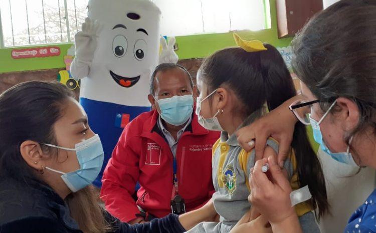 22 mil niños y niñas se han vacunado contra la Influenza en la región