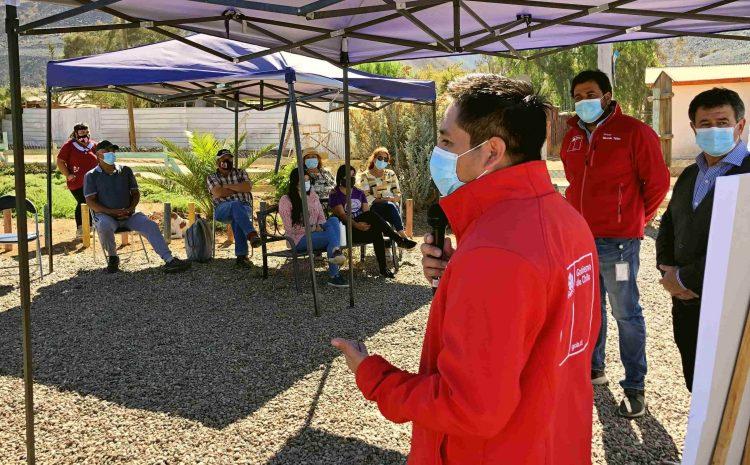 Autoridades presentan en Andacollo el Desafío 100+100 para erradicar campamentos