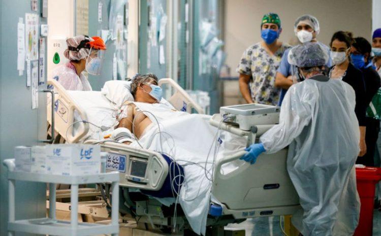 6.078 casos nuevos: Chile suma mil muertos en 10 días y marca récord de conectados a ventilador
