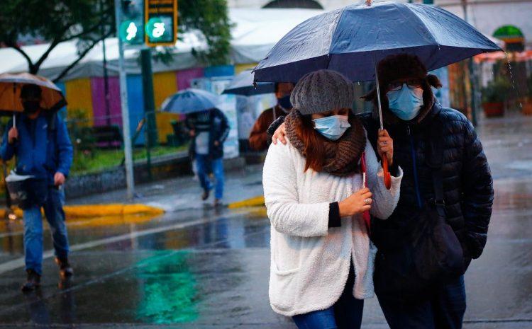 Sistema frontal provocó escasas precipitaciones en la Región de Coquimbo