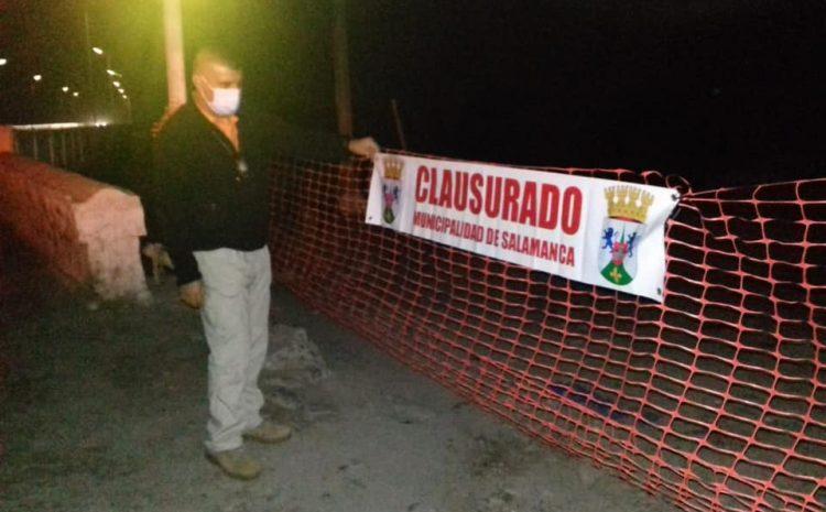 El Municipio de Salamanca clausura las obras de Aguas del Valle en el Puente Fiscal