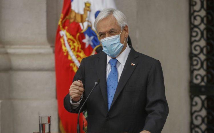 """Piñera presenta proyecto de """"retiro y recuperación"""" de fondos previsionales"""