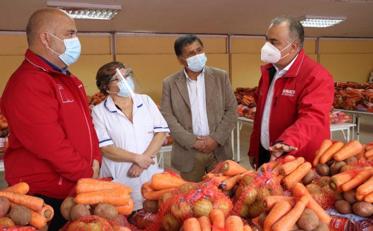 Junaeb completa 27 millones de canastas de alimentación escolar     entregadas a estudiantes de todo Chile durante la pandemia