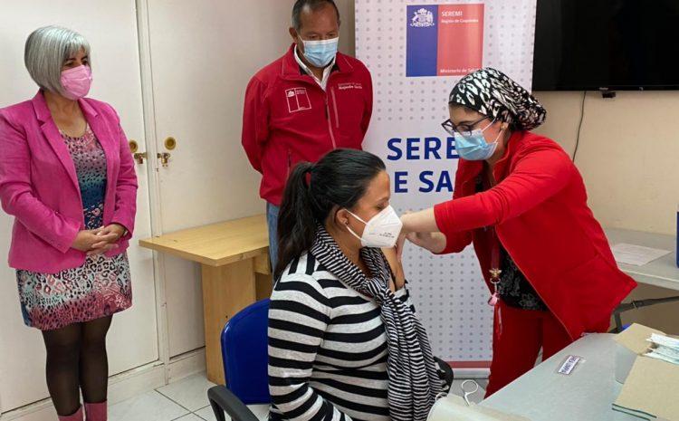 Embarazadas con comorbilidades se suman al proceso de vacunación contra el Coronavirus