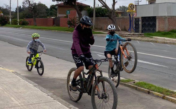 Illapel se suma a la  seguridad vial en la franja  deportiva Elige Vivir Sano