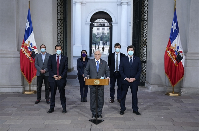 Presidente Piñera promulga el proyecto de ley del tercer retiro de los fondos de las AFP