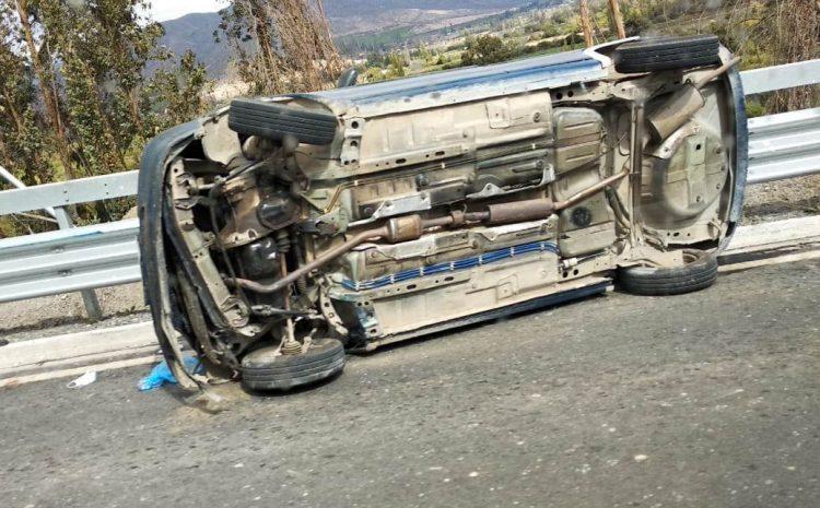 Hombre de 79 años fallece tras accidente vehicular en el sector de El Boldo en Salamanca