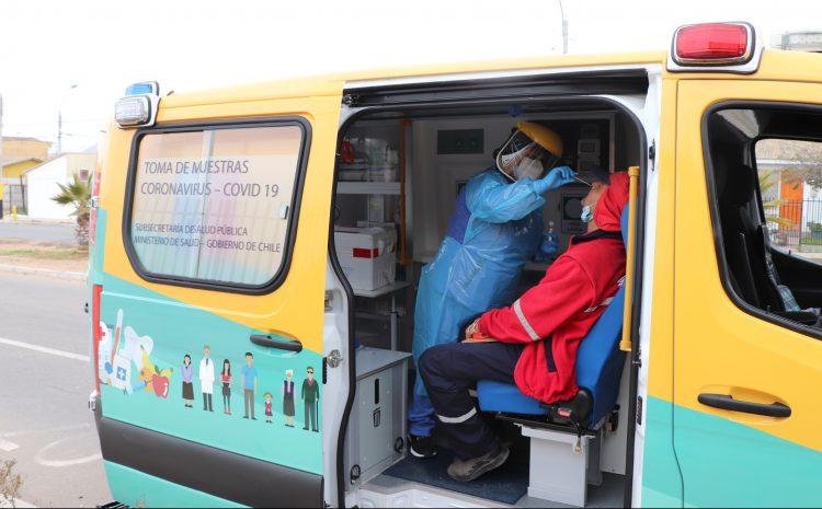 Coordinan operativos de Búsqueda Activa de Casos de COVID en barrios de La Serena y Coquimbo