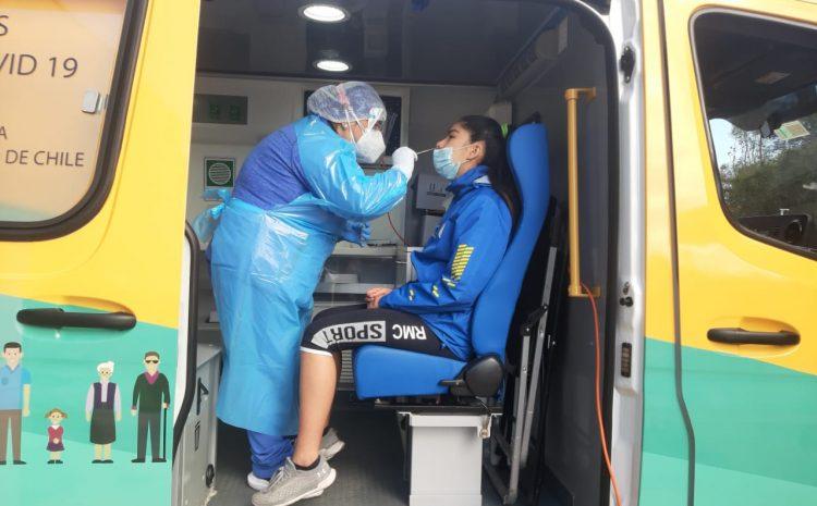 Deportistas de alto rendimiento de la región participan en operativo del PCR Móvil