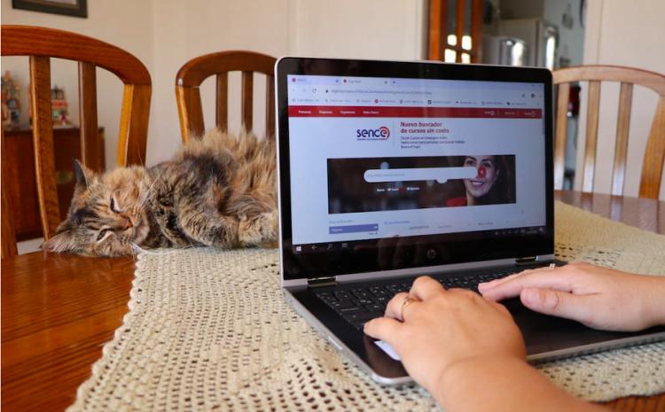 Más de 12 mil personas en la región han accedido a cursos online a través de Sence