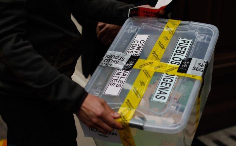 Servel detalla que urnas serán selladas con huincha engomada durante a custodia de votos entre sábado y domingo